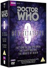 DR WHO REVISITATIONS V3 037 065 090 Doctors Hartnell Troughton Pertwee Tom Baker