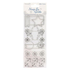 Christmas Foiled Scrapbooking Stickers