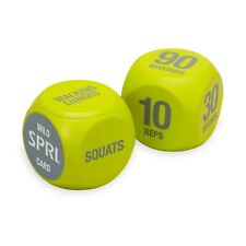 SPRI Exercise Dice (6-sided) Home Gym Fitness Workout