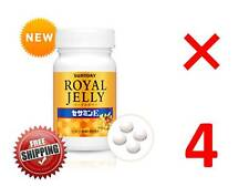 LOT 4 Suntory Royal Jelly Sesamin E for 4 months anti aging amino acid Japan