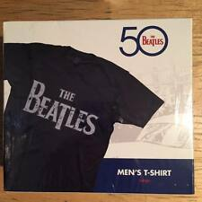 The Beatles 50 Distressed Black Men's T-Shirt Large by Bravado Large