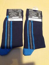 Two Pairs Mens Socks from RauFashion - Shoe Size 41-44