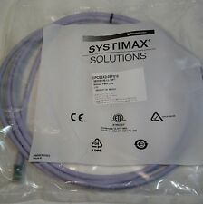 (50) Commscope Systimax  10-FOOT Cat 6 Modular Patch Cable, Cord Lilac  360GS10E