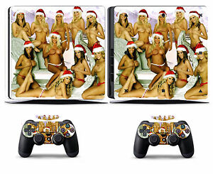 Girls 203 Vinly Skin Sticker Cover for Sony PS4 Slim PlayStation 4 SLIM