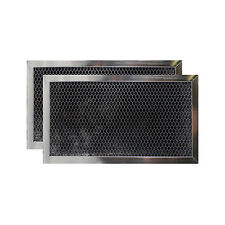 Whirlpool AP4299855 Fits Charcoal Carbon Microwave Filter 6-1/8x11-1/8x3/8-2PACK