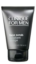 Clinique Skin Supplies for men Face Scrub 3.4oz/100ml New Sealed