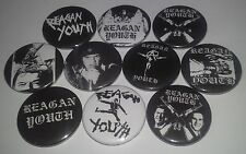 10 Reagan Youth pin button badges Punk Rock East Coast Hardcore