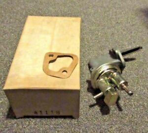 41118 NEW NOS Fuel Pump - M6445 - SP1178MP - 74-75 Ford Pinto / Bobcat 2.3L 140