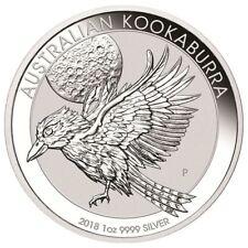 2018 Perth Mint Kookaburra 1 oz Silver Coin | In Original Mint Capsule