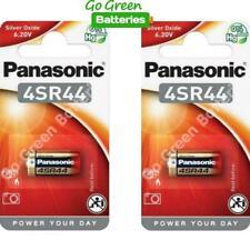 2 x Panasonic 4SR44 6V Silver Oxide Battery 4LR44 476A A544 PX28A L1325 Camera