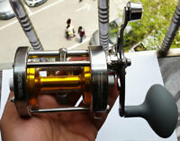 1x  Big Game Trolling Round Multiplier Baitcasting Reels Carp Fishing Reels #70