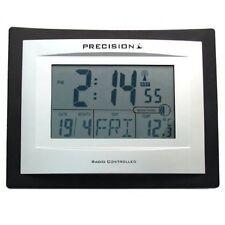 Precision AP046 Radio Controlado de Pared LCD Digital Reloj De Escritorio Fecha Temperatura