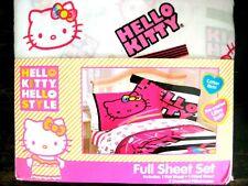 Sanrio Hello Kitty Full Sheet Set