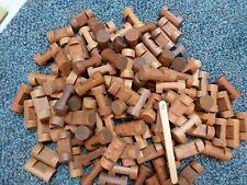 Vintage 1 1/2 Lincoln Logs Lot at Least 100 1 Notch Round Great Condition