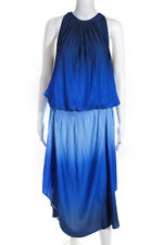 Ramy Brook Womens Ombre Audrey Dress Blue Size Extra Large