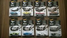 Hot Wheels 50 Years Of Mustang Complete Set 8/8 Cars 2013 Fifty Years. Rare!