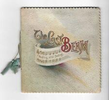 THE LAST BEAM Antique Small VICTORIAN CHILDREN'S BOOK Illustrated Religious RARE