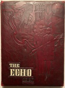 1947 WYTHEVILLE HIGH SCHOOL YEARBOOK, THE ECHO, WYTHEVILLE, VA