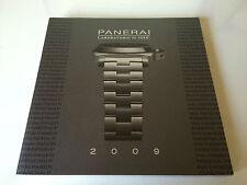 New - Book Book PANERAI - Laboratory di idee 2009 - Spanish Spanish - New