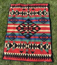 72 X 52 Inch Navajo Southwest Aztec Fleece Throw Blanket San Marcos? Biederlack?