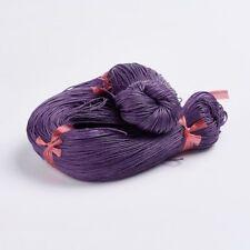 Indigo Púrpura Cordón De Algodón Encerado 10 M x 1 mm Shamballa Macramé fabricación de joyas