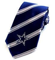 Dallas Cowboys Tie Clip Football Logo Tie Clasp Emblem Fan Gift NEW