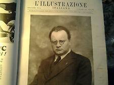 L'illustrazione italiana 1931 LA MORTE DI ARNALDO MUSSOLINI Popolo d'Italia