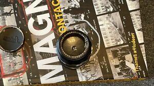 Leica TELE-ELMARIT M 90mm f/2.8  with Leica Caps, EXCELLENT