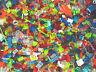 LEGO Small Transparent Bricks & Pieces Approx 300 Parts 100% Genuine RARE