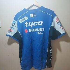 genuine Suzuki  tyco Tas  men's T Shirt UK large male