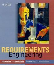 Worldwide Series in Computer Science: Requirements Engineering : Processes...