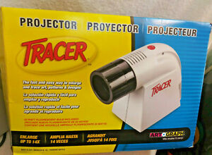 New Art-O-Graph Tracer Projector 14X w/ Bulb Art Enlarger Crafts Decor Drawing