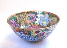 Vintage Cloisonne Miniature Asian Floral Bowl