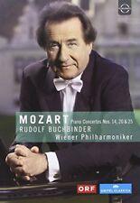 Buchbinder: Mozart: Piano Concertos Nos. 14, 20 and 25 [DVD] [2018][Region 2]