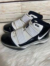 Nike Lebron Zoom Soldier 3 III Team Bank White Black Men's Size 6 367183-111