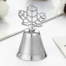 Seat Clip Maple Bookmark Leaf Bookmarks Folder Stainless Steel Color Bookmarks