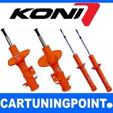 Koni amortiguadores frase va + hectáreas eje delantero + eje trasero delante atrás str. t Orange