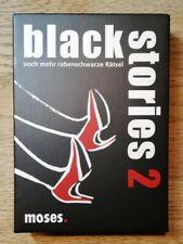Kartenspiel  Black Stories Horror Movies Edition