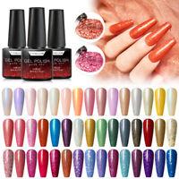 T-TIAO CLUB 6ml Glitter Nail UV Gel Polish Soak Off UV & LED Gel Nail Polish DIY