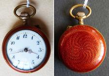 Petite montre à gousset de col en émail  Vers 1910 watch