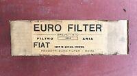 Euro Filter Fiat 124 S Mot.1600 Filtro Aria Nuovo