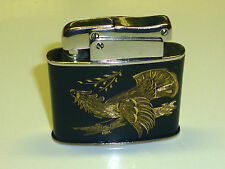 KW (KARL WIEDEN) AUTOMATIC POCKET LIGHTER - BLACK LACQUER - 1951 - GERMANY