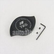 For Toyota Lexus CNC TRD Anodized Billet Aluminum Black Radiator Cap Cover