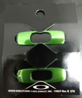 Oakley Men's Batwolf Sunglasses Replacement Icons Icon O's Logo Pair Green New