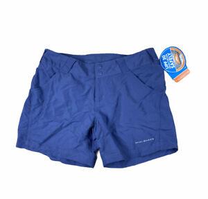 New Columbia Women's PFG Coral Point II Shorts Omni-Shade  SZ Small