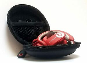 Monster Beats in-Ear Earphone Pocket Size Round Carrying Case Pouch