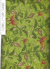 Prairie Field - Seed in Wind Green Avlyn 3506 504  100% Cotton Fabric by  1/2 yd
