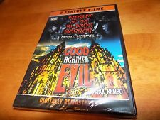 NIGHT OF THE BLOODY HORROR GOOD AGAINST EVIL Cult Horror Classics 2 Film DVD NEW