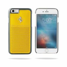 Genuine Ferrari GT Berlinetta Perforated Leather Case For iPhone 6 & 6S