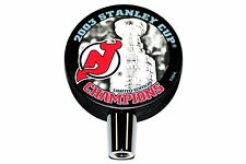 2003 New Jersey Devils NHL Stanley Cup Champions Hockey Puck Beer Tap Handle